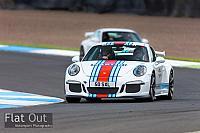 Porsche At the Hill